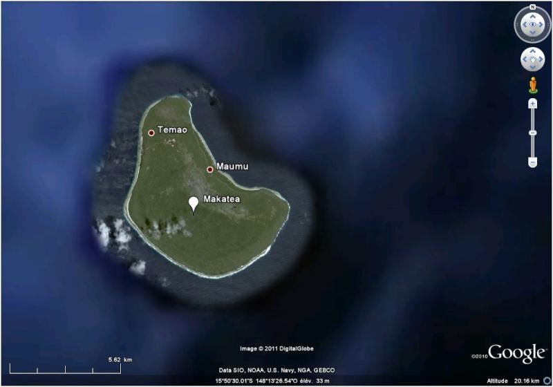 A la découverte des îles de la Polynésie française avec Google Earth (Les Marquises) - Page 3 Makate11