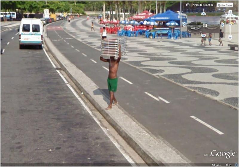 STREET VIEW : Bikini à Rio (Brésil) (((INTERDIT AU MOINS DE 18 ANS))) Ramass10