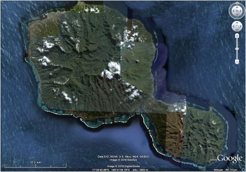 A la découverte des îles de la Polynésie française avec Google Earth (Les Marquises) Tahiti10