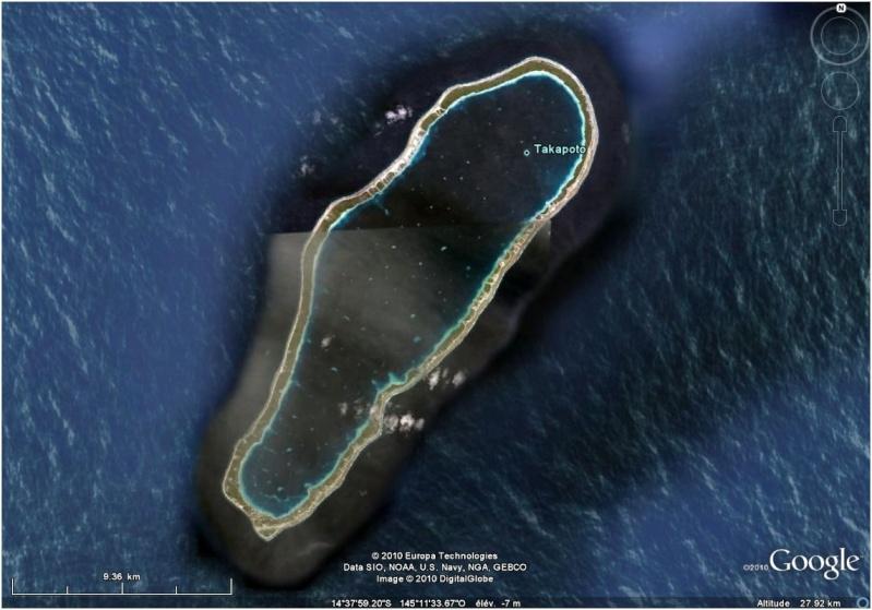 A la découverte des îles de la Polynésie française avec Google Earth (Les Marquises) Taka10