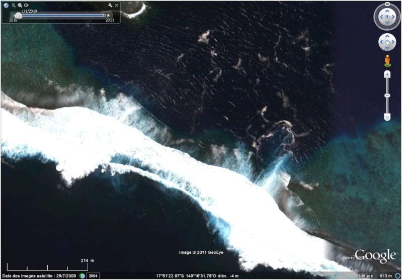A la découverte des îles de la Polynésie française avec Google Earth (Les Marquises) - Page 3 Teahup10