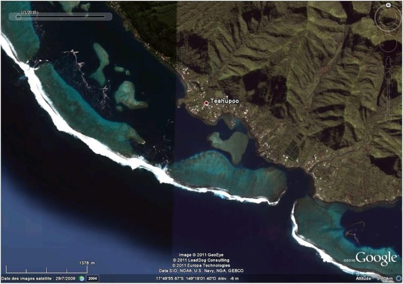 A la découverte des îles de la Polynésie française avec Google Earth (Les Marquises) - Page 3 Teahup11