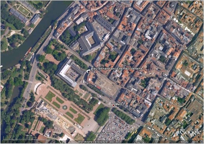 """Maisons natales des """"grandes figures"""" repérées dans Google Earth Verali10"""
