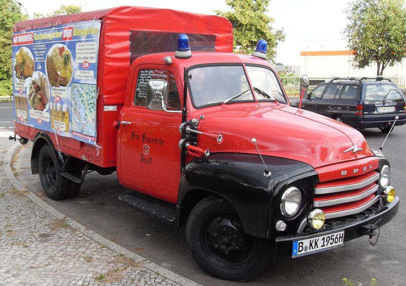 Feuerwehr Opel Blitz 1957 Sdc11010