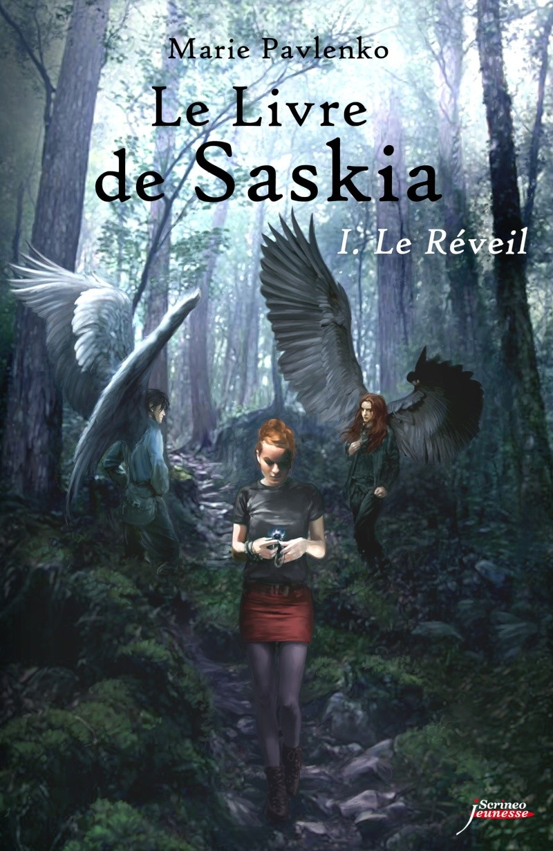 [Éditions Scrineo Jeunesse] Le Livre de Saskia: le réveil de Marie Pavlenko Une-sa10