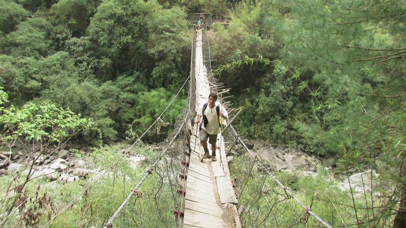 Photographie : Népal, pont de la mort Img_0310