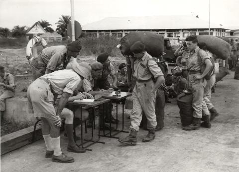 Base BANANE Congo Belge 01071910