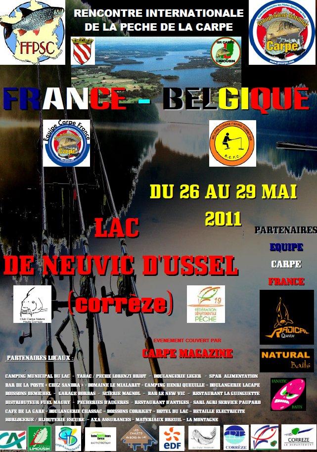 Rencontre amicale Equipe de France/Belgique Barrage de  de Neuvic Image110