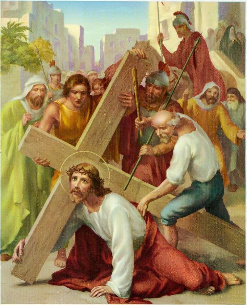 Chemin de la Croix en union avec le Sacré-Coeur 03_iii10