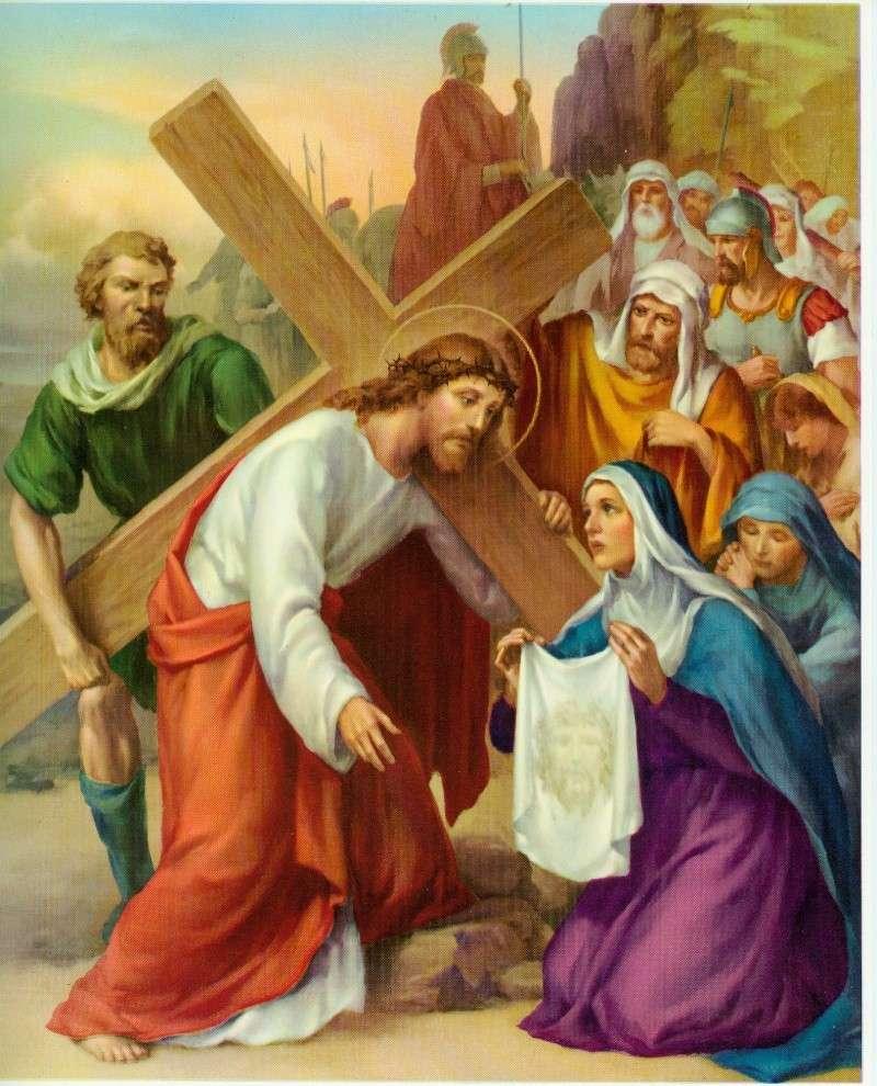 Chemin de la Croix en union avec le Sacré-Coeur 06_via10