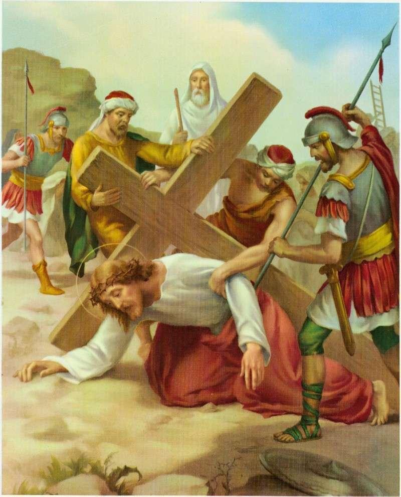 Chemin de la Croix en union avec le Sacré-Coeur 07_vii10