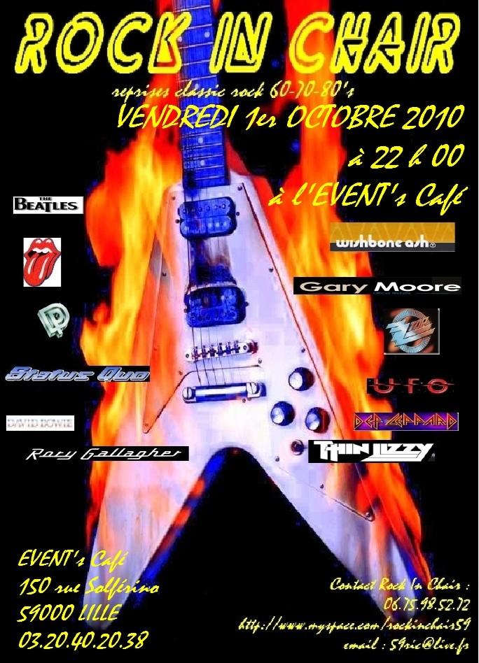 à l'Event's Café à Lille le 1er octobre à 22 h 00 Ric-ev10