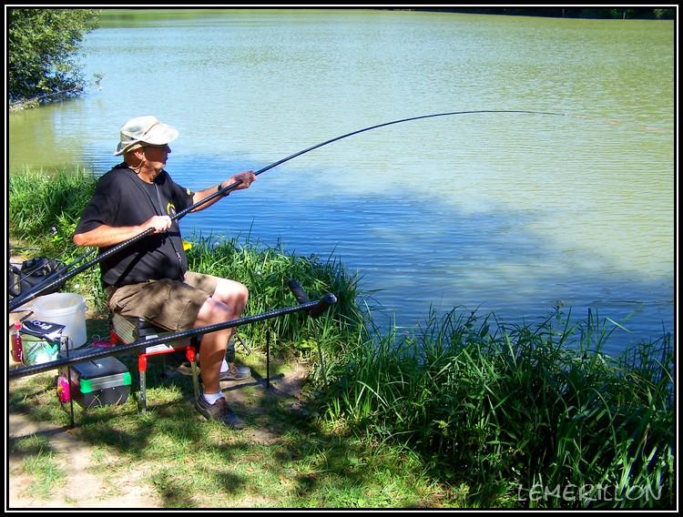 Je pêche la carpe à la baguette. Grande13