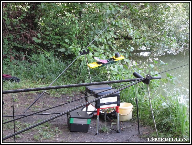 Je pêche la carpe à la baguette. La_gra11