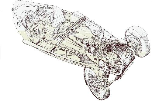 Tricylcle JZR V2 honda à base de moteur CX...    Jzr_110