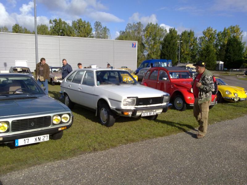 Photos de R15 & R 17 en arrière plan 25092010