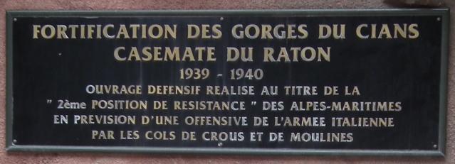 Fortification des gorges du Cians (Alpes-Maritimes) Dscf5713