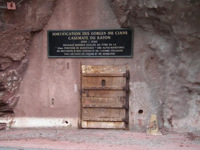 Fortification des gorges du Cians (Alpes-Maritimes) Dscf5724