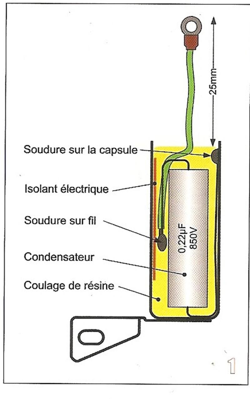 Rupteurs électroniques pour remplacer les vis et condos Condo110
