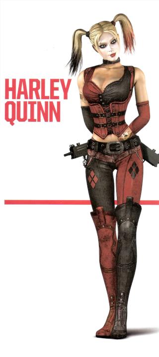 Batman arkham City - Harley Quinn Harley10