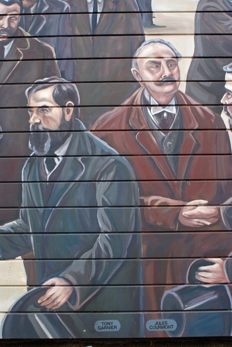 Street view: La cité idéale en 25 Fresques murales à Lyon 1113