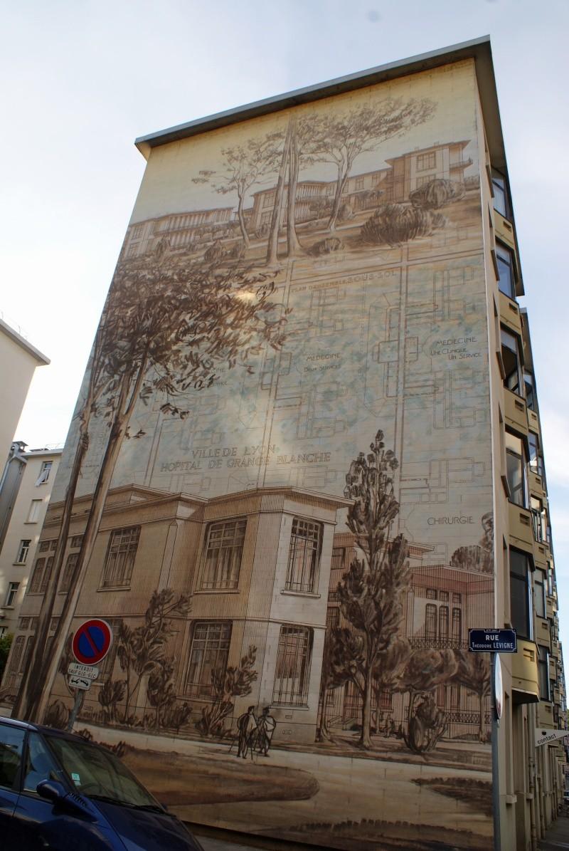 Street view: La cité idéale en 25 Fresques murales à Lyon 1114