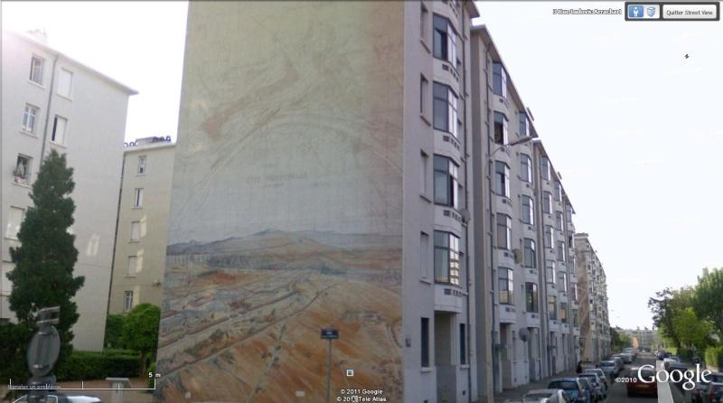 Street view: La cité idéale en 25 Fresques murales à Lyon 1123