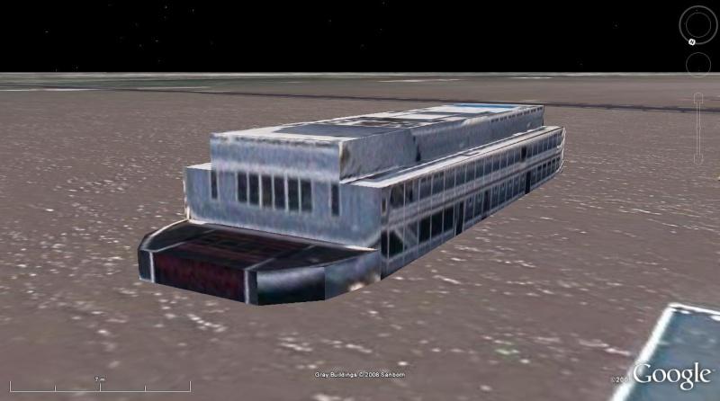 modélisation 3D d'une péniche, Saint Louis, Missouri, USA 148