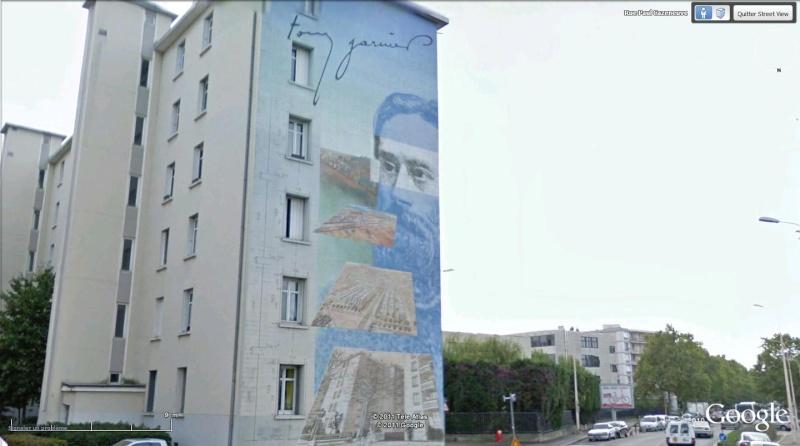 Street view: La cité idéale en 25 Fresques murales à Lyon 186