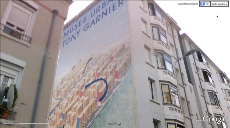 Street view: La cité idéale en 25 Fresques murales à Lyon 187