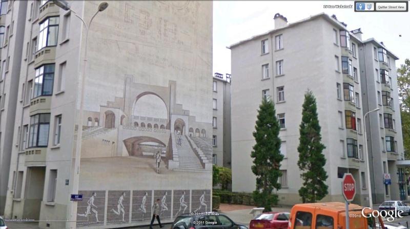 Street view: La cité idéale en 25 Fresques murales à Lyon 189
