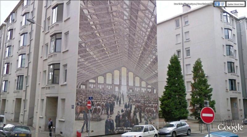 Street view: La cité idéale en 25 Fresques murales à Lyon 197
