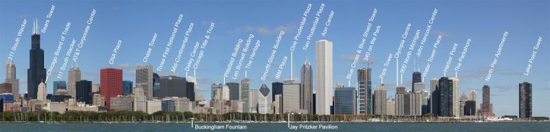 Route 66 : parcours d'un mythe américain. Chicag12