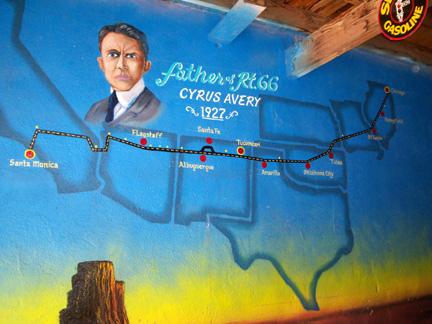 Route 66 : parcours d'un mythe américain. Cyrus11