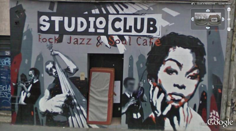 STREET VIEW : Pubs, cafés théatre, cabarets, boites de nuit. Jazz10