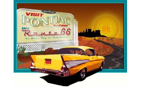 Route 66 : parcours d'un mythe américain. - Page 3 Pontia10