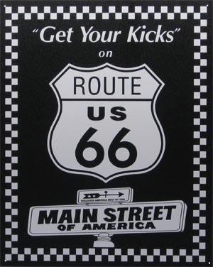 Route 66 : parcours d'un mythe américain. Route611