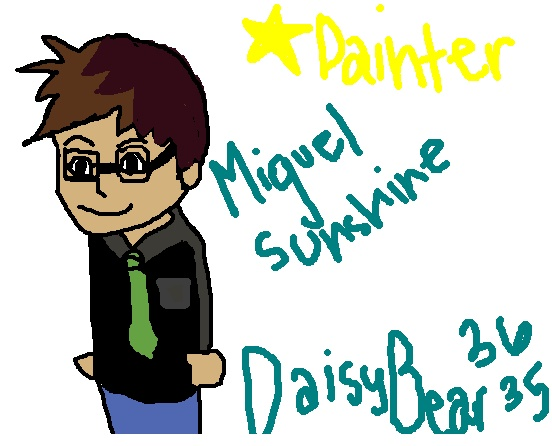 The Star Painter Contest Miguel10