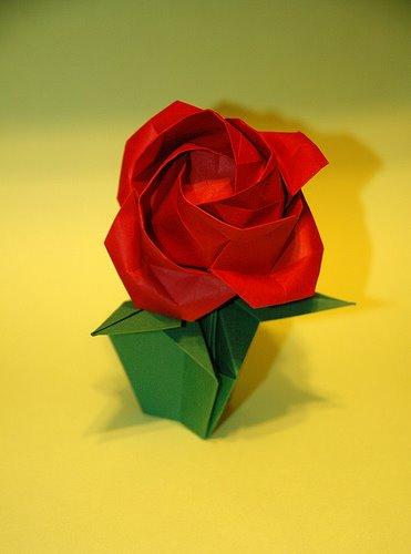 Origami sau arta plierii hartiei; decupaje - Pagina 3 16744911