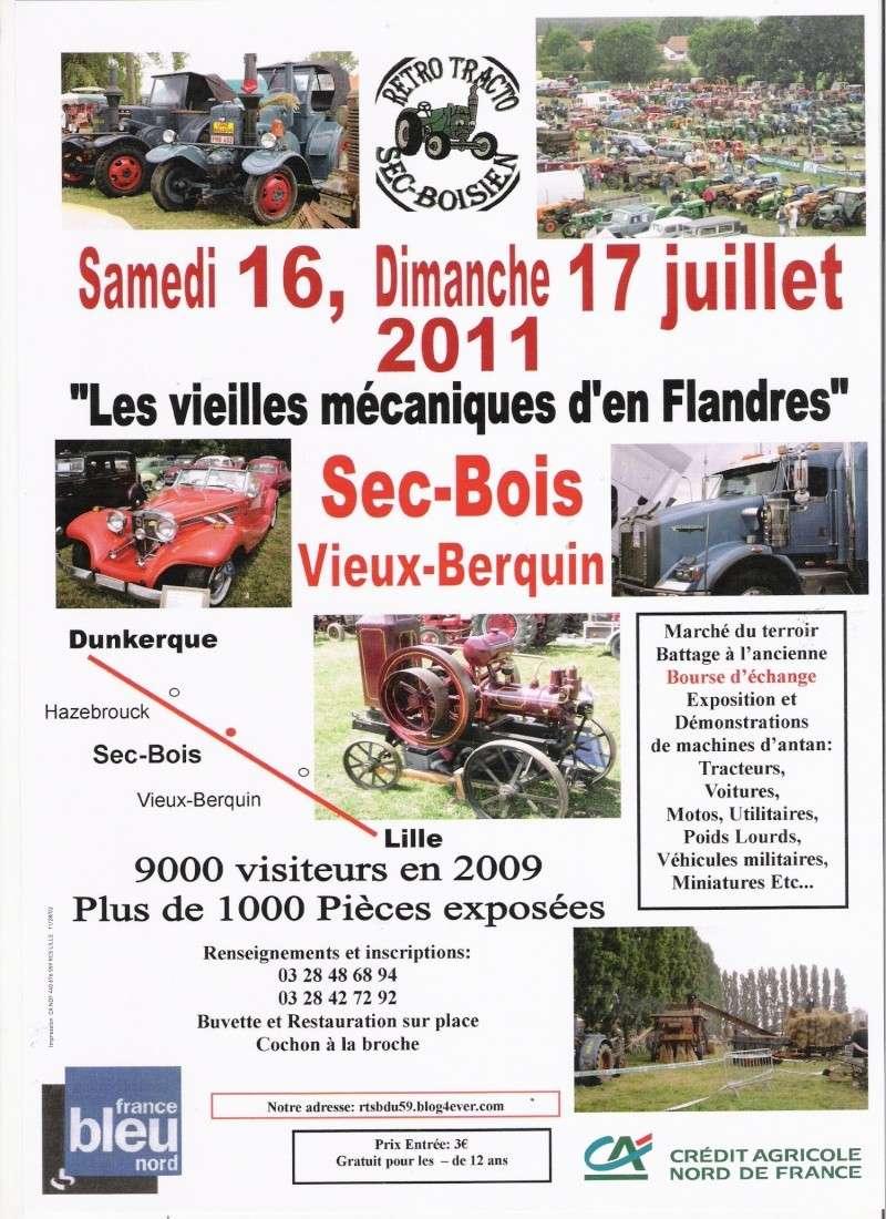 Sec-Bois(59) les 16 et 17 juillet 2011 les vieilles mécaniques d'en flandres Sec-bo10