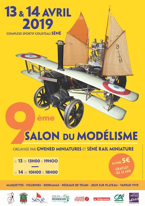Salon du Modélisme de Séné (56) 13-14 avril 2019 - Page 2 Affich10