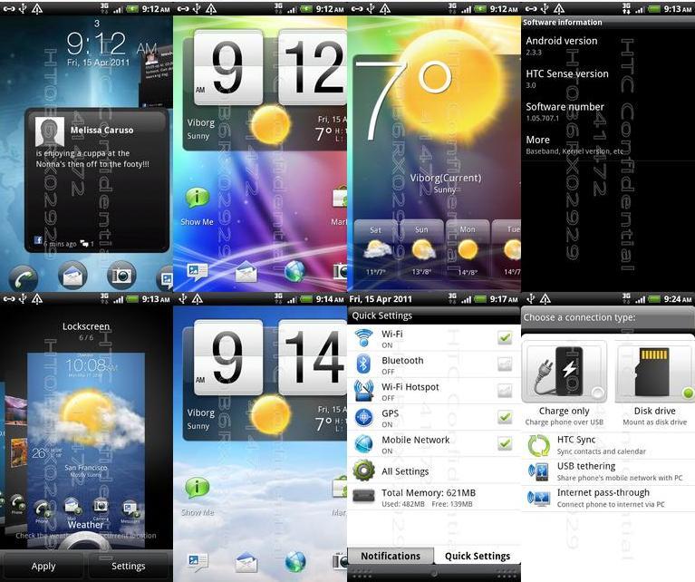 La ROM finale du HTC Desire HD sous Gingerbread vient de fuiter  Desire10