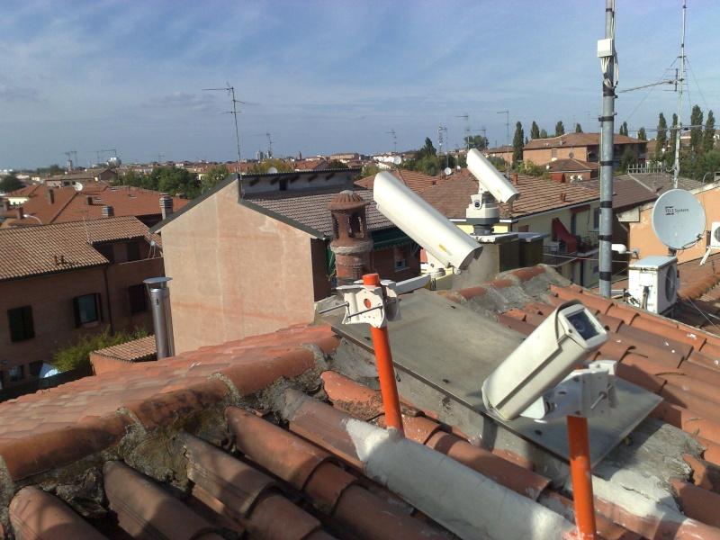 installazione di  nuove stazioni video da Ferrara e TLE Tracker 14092010