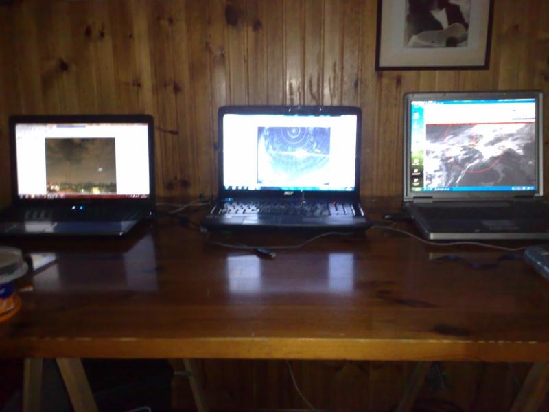 installazione di  nuove stazioni video da Ferrara e TLE Tracker 18092010