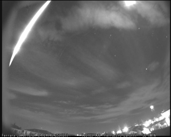 Fireball North Taurids 2010.10.27_04.04.46 ± 1 U.T. M2010124