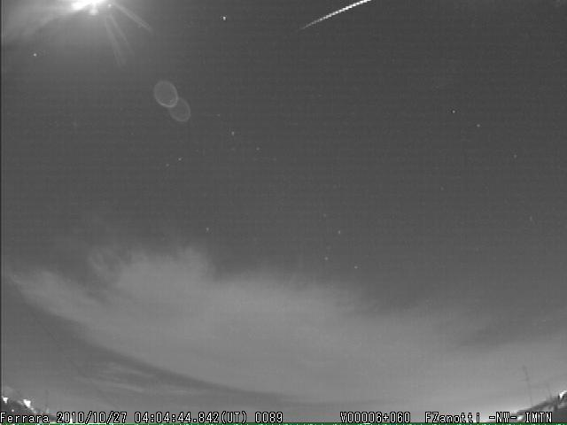 Fireball North Taurids 2010.10.27_04.04.46 ± 1 U.T. M2010125