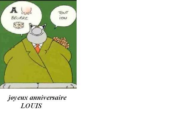 Anniversaire De Louis Lamy