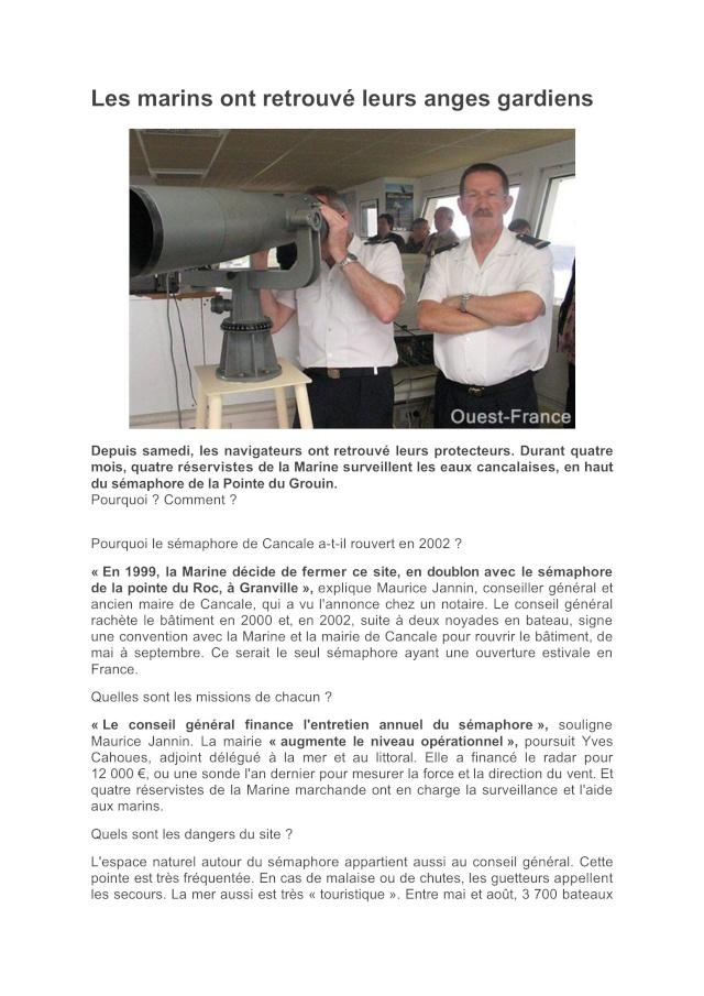 SÉMAPHORE - LE GROIN (ILLE ET VILAINE) Grouin12