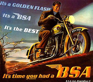 BSA en vrac...   Flash110