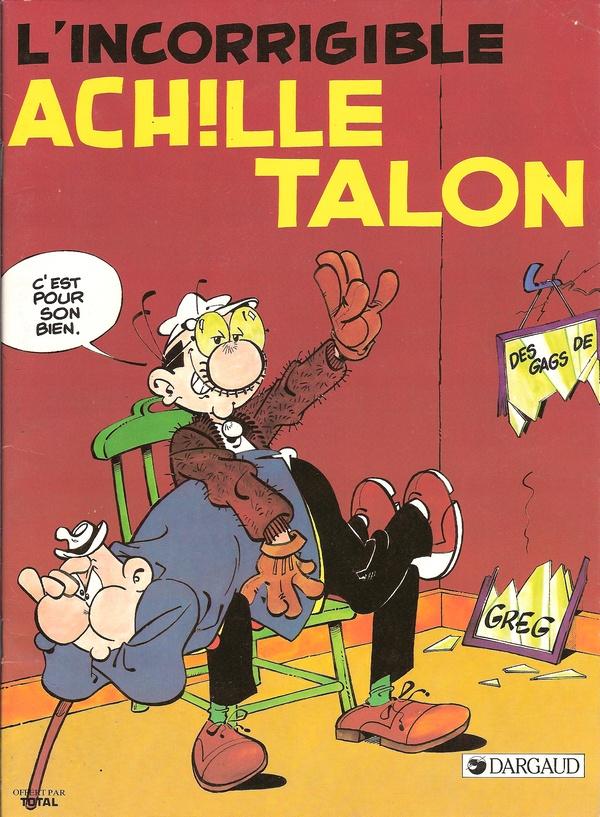 BD publicitaires Achille Talon Achill13